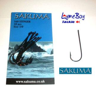 Sakuma 560 Stinger Hooks