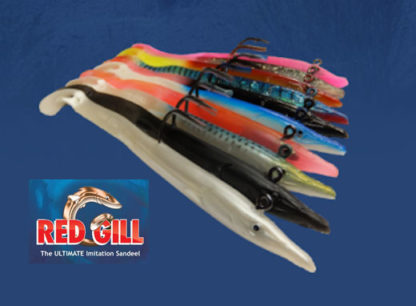 Red Gill Evolution Sand Eels