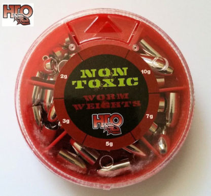 HTO Non Toxic Worm Weights Selection
