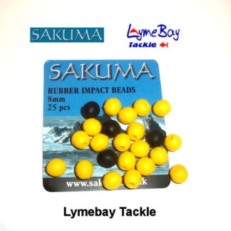 Sakuma Rubber Impact 8mm Beads