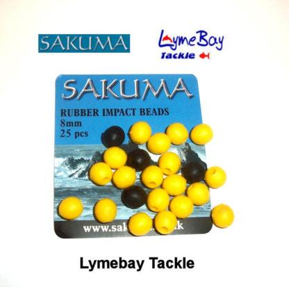 Sakuma Rubber Impact 8mm Beads