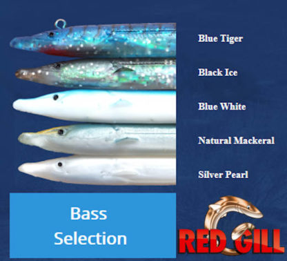Red Gill Evolution Bass Selection