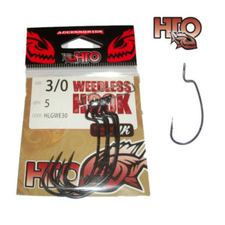 HTO Weedless Hooks