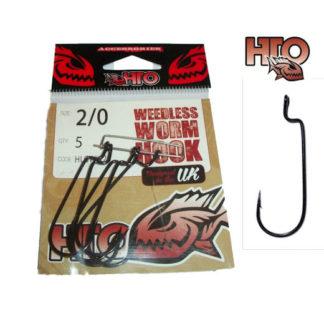 HTO Weedless Worm Hooks