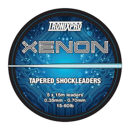 Xenon Tapered Shock Leader 15 - 60