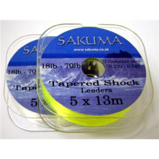 Sakuma Tapered Shock Leaders