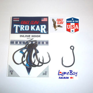 Eagle Claw 'TROKAR' TK21 INLINE single lure hook
